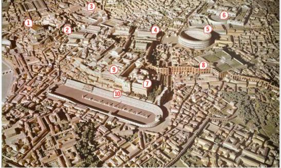 Reconstitution de Rome